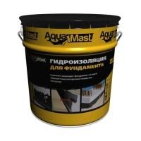 Мастика битумная AquaMast для гидроизоляции фундаментов 10кг