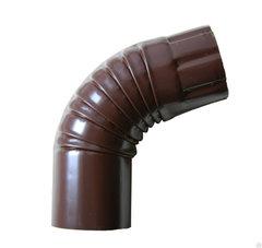 Колено коричневое100мм Profil