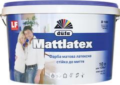Краска интерьерная латексная DUFA D100 5л