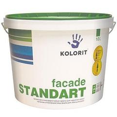 Краска Фасад Стандарт  Колорит, базис А 10л