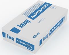 Гипс строительный Knauf ALPHA-GIPS 40кг