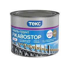Эмаль-грунт ТЕКС РЖАВОСТОП 3 в 1 коричневая ТЕКС 2кг