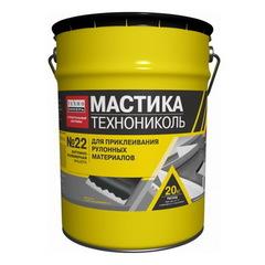 Мастика для гибкой черепицы ТехноНИКОЛЬ №23 (Фиксер) 3,6 кг