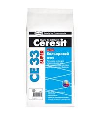 Цветной шов Ceresit СЕ33/2кг 2-5мм (кирпичный)