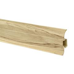 Плинтус-короб с коэкструзией, Дуб паркетный 2,5м/п