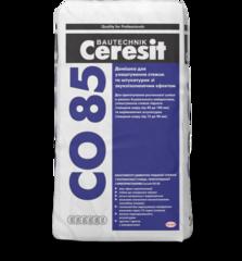 Добавка для звукоизоляции стяжки Ceresit СО85 25кг