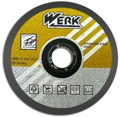 Круг отрезной по металлу WERK 230х2,0х22,2