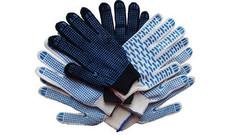 Перчатки трикотажные СТАЛЬ с пвх Волна