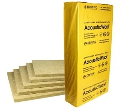 Акустическая минеральная вата AcousticWool Sonet (1000*600*50) 6м2/уп