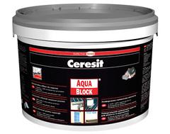 Герметик Ceresit Aquablock серый 5кг