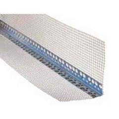 Уголок перфорированный алюминиевый с сеткой 3,0м