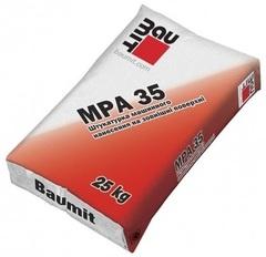 Штукатурная смесь Baumit MPА 35, 25кг