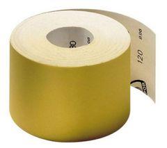 Шлифшкурка Жёлтая Бригадир Standart 115мм*50м Р-120