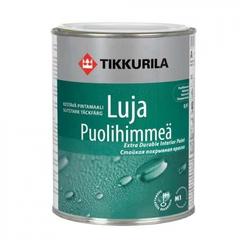 Краска интерьерная полуматовая Tikkurila Luja базис А 0,9л
