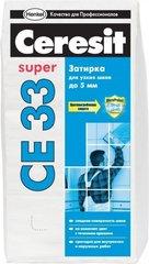 Затирка Ceresit СЕ33 2кг 2-5мм (графитовый)