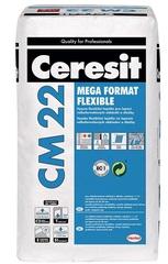 Клей для плитки Ceresit CM 22 Mega format flexible 25 кг