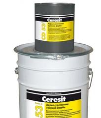 Краска CERESIT CD 53 защитная (компонент B), 3,6 кг