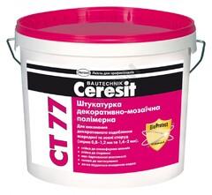 Штукатурка мозаичная Ceresit СТ77 GRANADA 4 14кг 1,4-2,0 мм