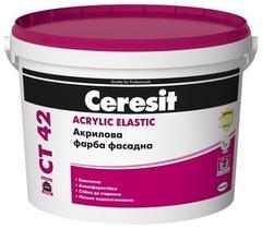 Краска акриловая Ceresit CT42 10л цвет NEBRASKA 4