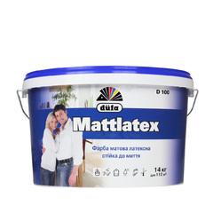 Краска интерьерная DUFA Mattlatex D100 14кг
