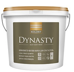 Краска интерьерная Колорит Dynasty базис А 4.5л