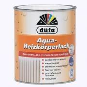 Акваэмаль для отопительных приборов Aqua-Heizkorperlack (белая) DUFA 2,5л