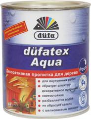 Дюфатекс аква лазурь белая DUFA 2,5л