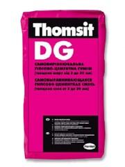 Самовыравнивающаяся гипсово-цементная смесь Thomsit DG 25кг