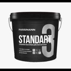 Краска интерьерная Farbmann Standart 3, база C 0,9л