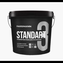 Краска интерьерная Farbmann Standart 3, базис A 4.5л