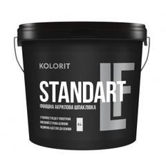 Финишная акриловая шпаклёвка Kolorit Standart LF 17кг