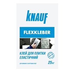Клей для плитки эластичный Knauf Флесклебер 25кг