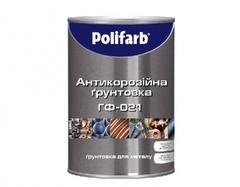 Грунт Polifarb ГФ-021 красно-коричневый 2,8кг