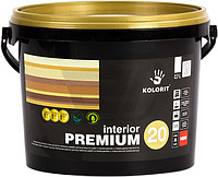 Краска Интерьер Премиум 20 Колорит, базис А 0,9л