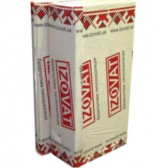 Минеральная вата IZOVAT 110 (1000х600х100мм) (1,2 кв.м)