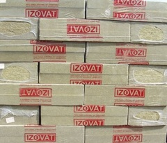 Минеральная вата IZOVAT 180 (1000х600х50мм) 1,8м.кв.