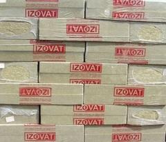 Минеральная вата IZOVAT 65 (1000х600х50мм) 6,0м.кв.