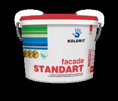 Краска фасадная Kolorit Standart A базис C 9л