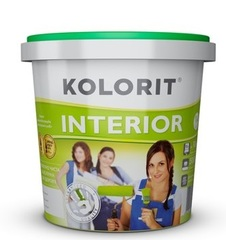 Краска Kolorit Интерьер ЭКО 10л