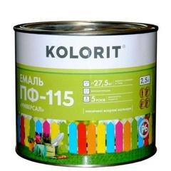 Эмаль Колорит ПФ-115 светло-серая 2,5кг