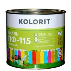 Эмаль Колорит ПФ-115 зеленая 2,5кг