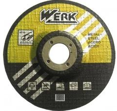 Круг зачистной по металлу WERK 125х6,3х22,2