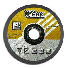 Круг отрезной по металлу WERK 125х1,6,х22,22