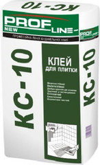 Клей для керамической плитки Profline КС-10 25кг