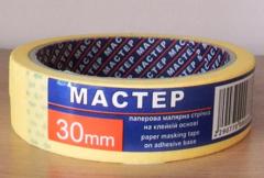 Лента малярная Мастер 30мм 20м