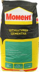 Штукатурка цементная Момент 25 кг