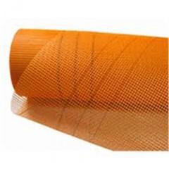 Сетка фасадная 5*5 стеклотканевая BUILDGLASS BG2 оранжевая A-145 50 м2