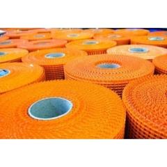 Сетка фасадная 5*5 стеклотканевая DB оранжевая A-145 50м2