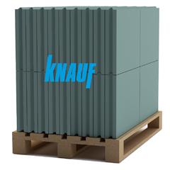 Плита Knauf ПГ-П-667*500*80 влагостойкая 15