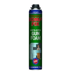 Пена монтажная SOMA FIX (под пистолет) 800 мл ЗИМА